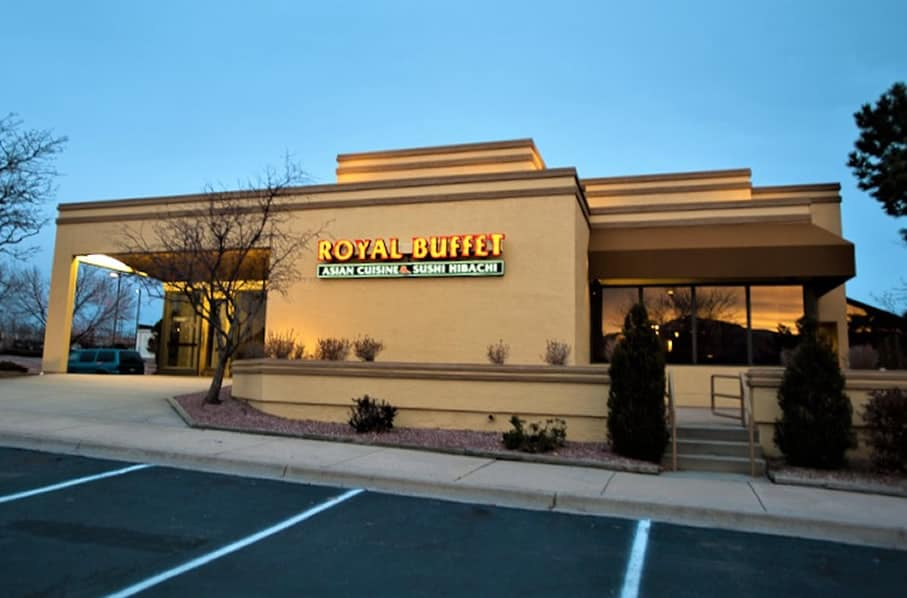 FGS Commercial Remodel of Royal Buffet in Colorado Springs, Colorado - finished exterior
