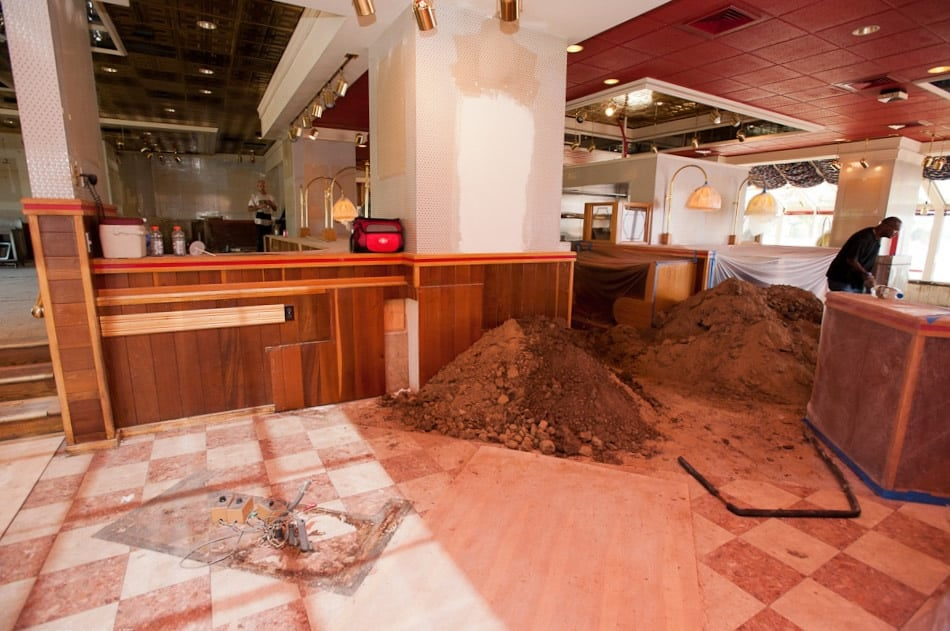 FGS Commercial Remodel of Royal Buffet in Colorado Springs, Colorado - site development