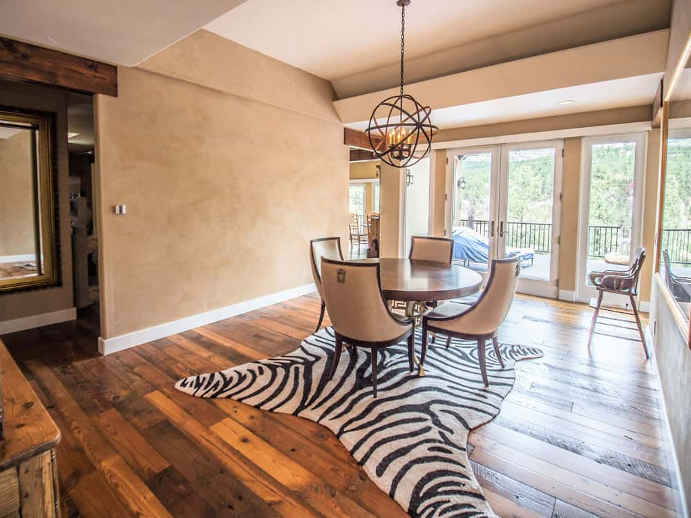 FGS water damage restoration - Dining Room after, Pine, Colorado