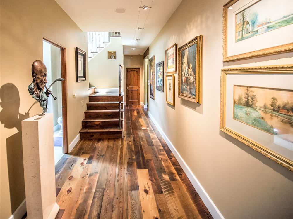 FGS water damage restoration - hallway after, Pine, Colorado