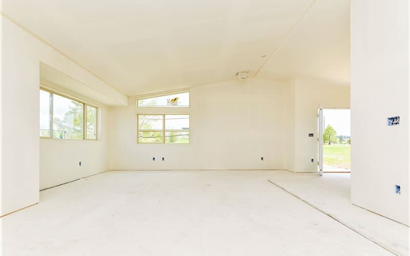 Fire damaged home restoration in Colorado Springs by CMS and FGS - interior progress