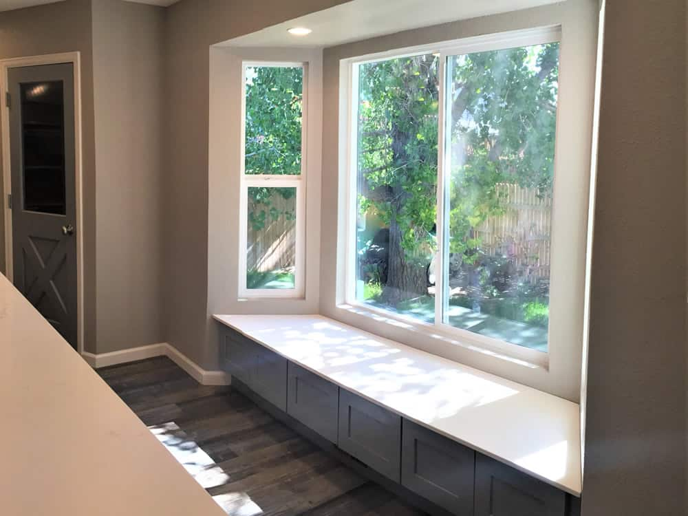 FGS residential renovation in Aurora, Colorado - finished kitchen windows