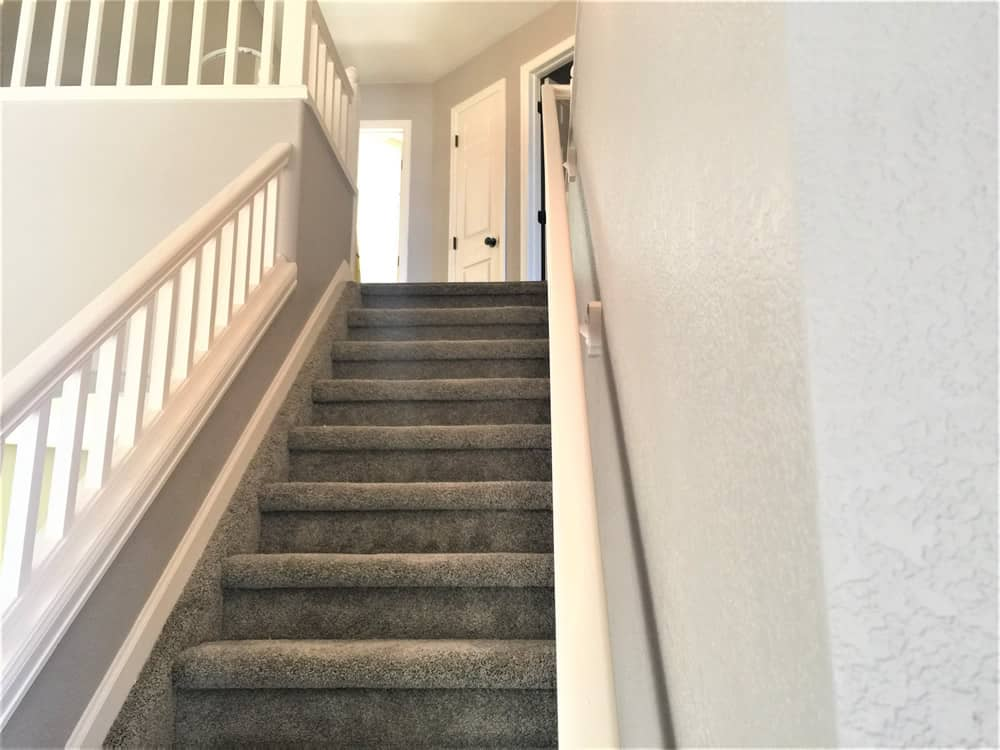 FGS residential renovation in Aurora, Colorado - finished staircase