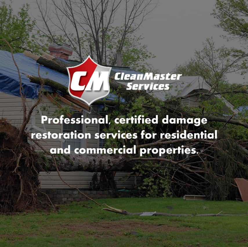 CleanMaster Services: Professional, certified damage restoration services for residential and commercial properties.