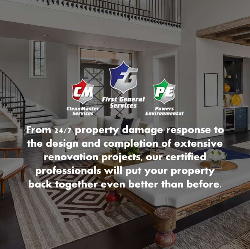 FGS team of property damage restoration and renovation and construction specialists