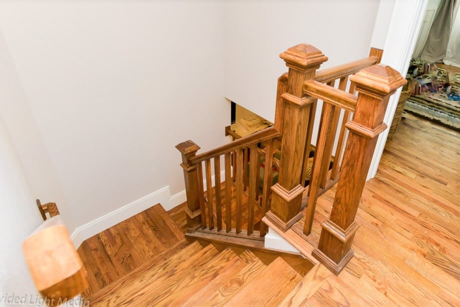 Historic Home remodel by FGS in Colorado Springs - staircase after picture